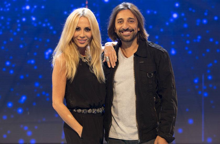 Marta Sanchéz e Antonio Carmona estiveram em Hit - La Cancion