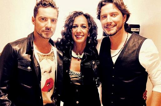 A primeira foto dos jurados do The Voice Kids Espanha segunda temporada