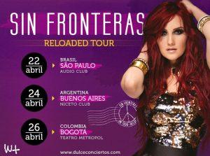 Dulce Maria fará show dia 22 de abril na Audio Club