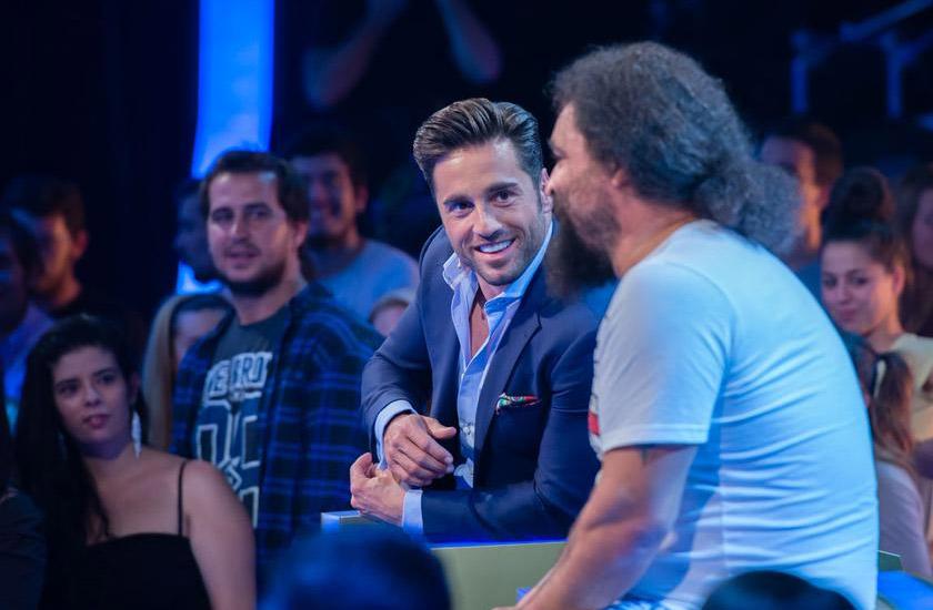 David Bustamante e El Sevilla, do Mojinos Escozíos, formaram a dupla mais divertida em Hit - La Canción