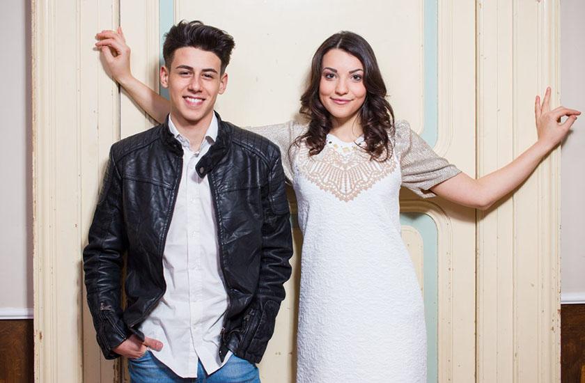 Anita Simoncini e Michele Perniola representarão San Marino no Eurovision 2015
