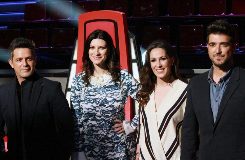 Alejandro Sanz, Laura Pausini, Malú e Antonio Orozco são os coaches do La Voz Espanha
