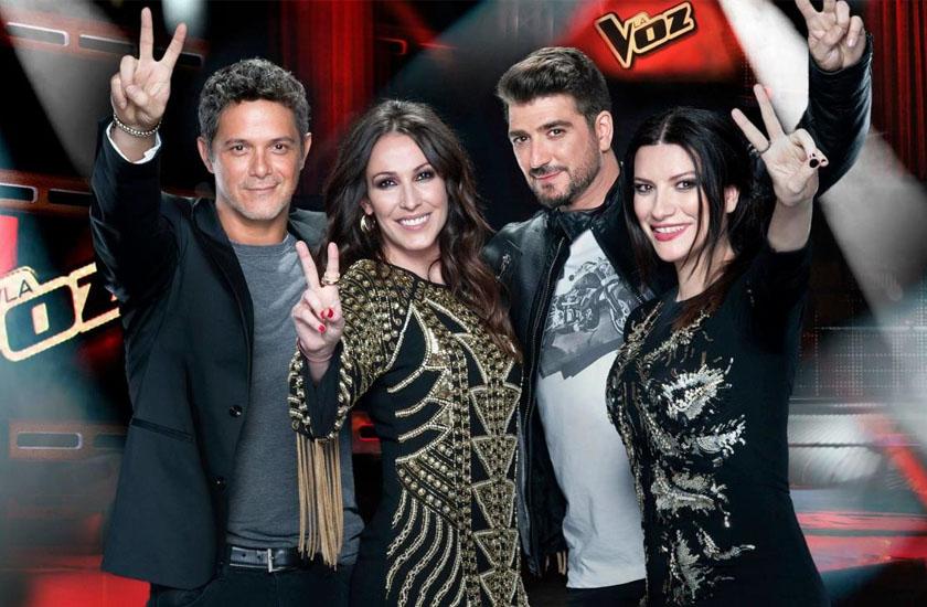 Os coaches do La Voz Espanha 2015