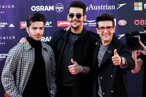 Itália Il Volo  Opening Ceremony Eurovision
