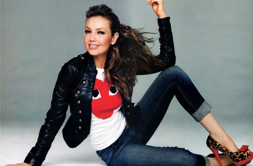 Thalía planeja próximo videoclipe
