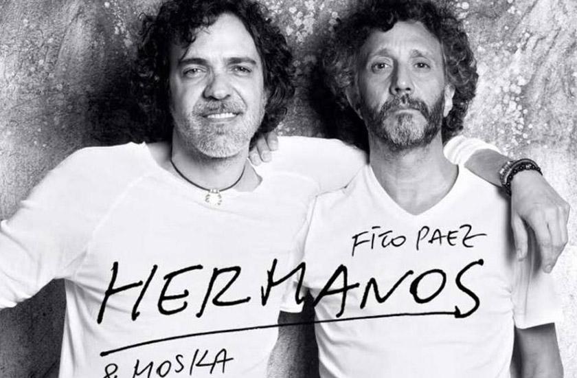 Hermanos é a primeira canção do disco de Fito Páez e Paulinho Moska