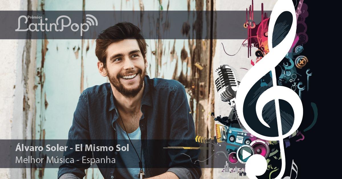 El Mismo Sol, de Alvaro Soler, é a música do ano na Espanha