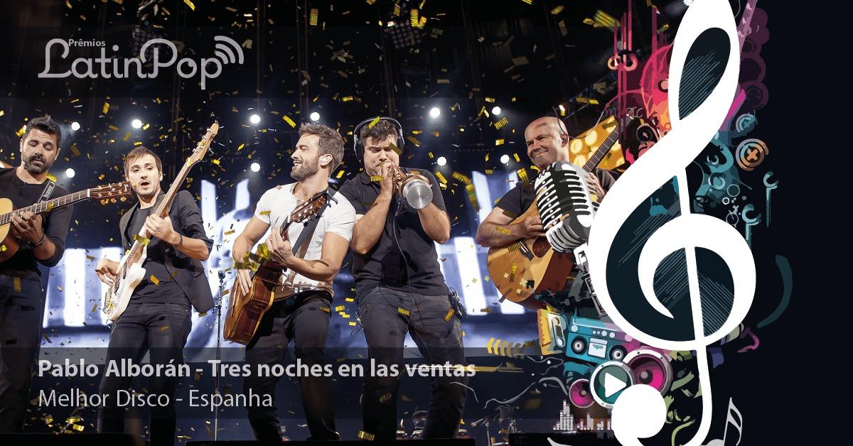 O melhor disco de 2015 na Espanha é Tres Noches en Las Ventas, do Pablo Alborán