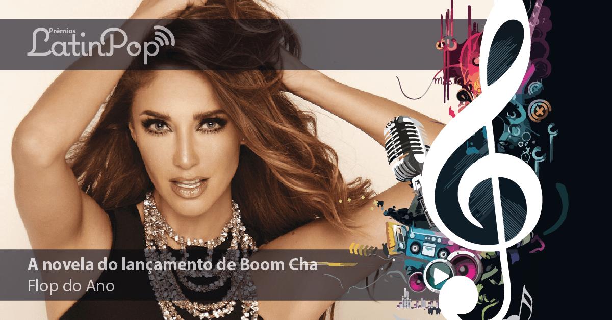 """O """"Flop"""" de 2015 é a novela do lançamento de Boom Cha, da Anahi"""