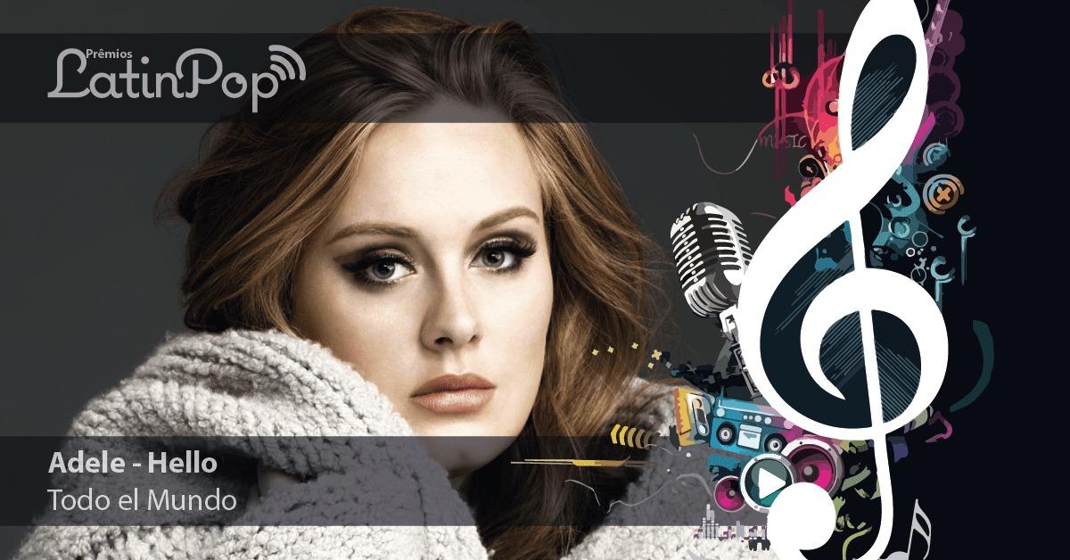 Adele é a vencedora do Prêmio LatinPop 2014 de