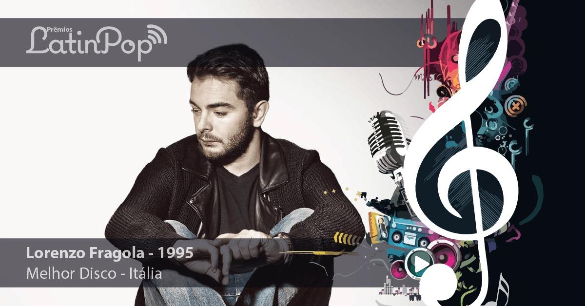 O melhor disco de 2015 na Itália foi 1995, de Lorenzo Fragola