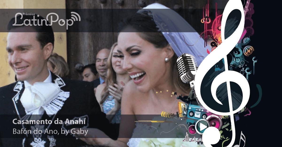E o Prêmio de Baphón do ano vai para o casamento da Anahi
