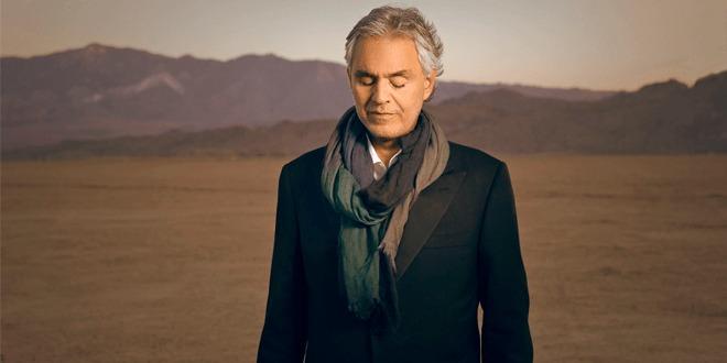 Ingressos para turnê de Andrea Bocelli no Brasil começam a ser vendidos em breve