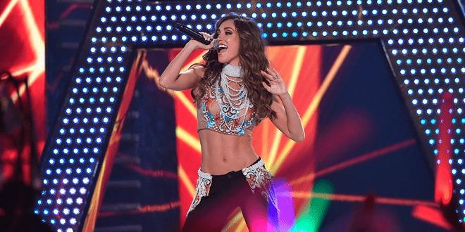 Os Premios Juventud 2015 foram marcados pelo retorno de Anahi aos palcos