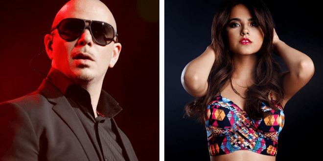 Pitbull e Becky G cantam o tema oficial da Copa América Centenário