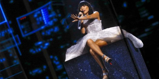 A australiana Dami In foi o contro das atenções na segunda semifinal do Eurovision
