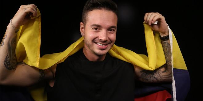 O reggaetonero colombiano J Balvin levantou o público na cerimônia de abertura da Copa América Centenário