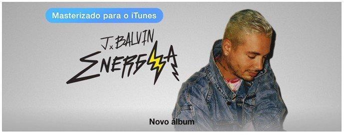 J Balvin Energia iTunes Brasil