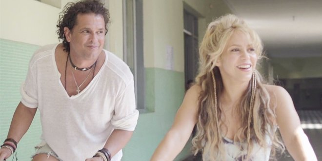 A parceria de Carlos Vives e Shakira, La Bicicleta, é um dos hits da música latina em 2016