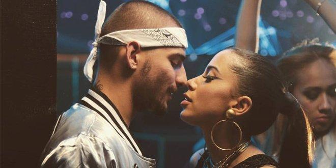 A sensual parceria de Sim ou Não de Anitta e Maluma é uma das músicas mais tocadas do Brasil