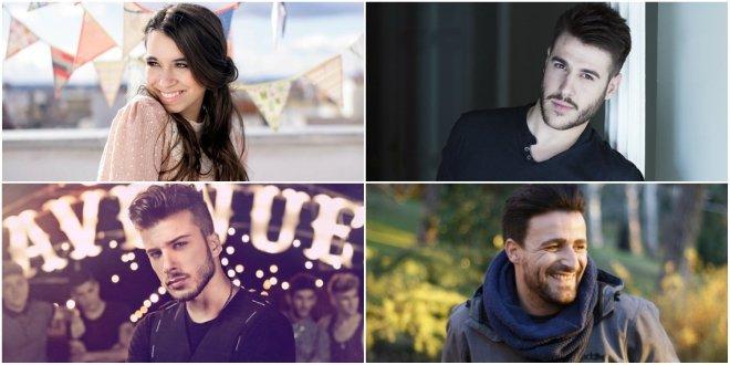 aula Rojo, Antonio José, Blas Cantó e Funambulista: aristas que devem bombar na música espanhola em 2017