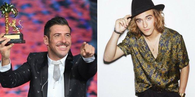 Franscesco Gabbani e Manel Navarro representarão a Itália e a Espanha no próximo Eurovision