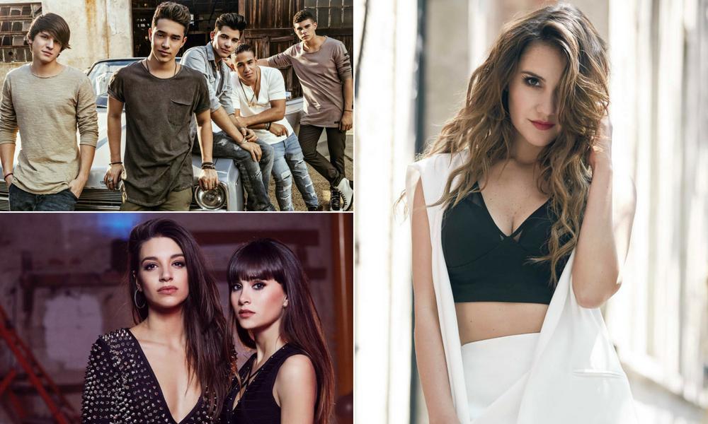 CNCO, Ana Guerra, Aitana e Dulce Maria embalam a playlist de música latina para os solteiros