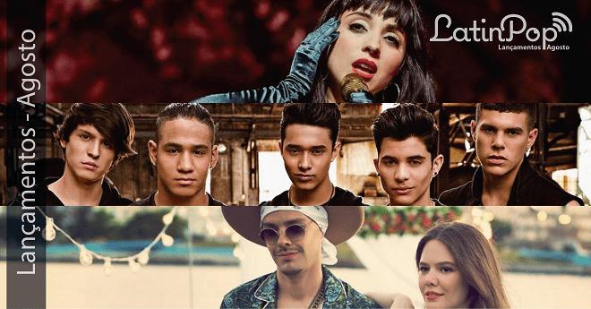 @LatinPop Brasil - Os melhores lançamentos da música latina em agosto