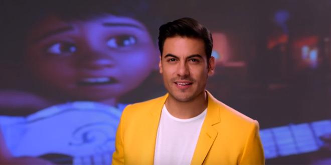 Carlos Rivera canta Recuérdame na trilha sonora de Coco, a nova animação da Disney Pixar