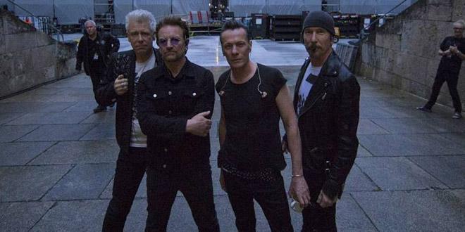O U2 fez um cover da Shakira em show na Colômbia
