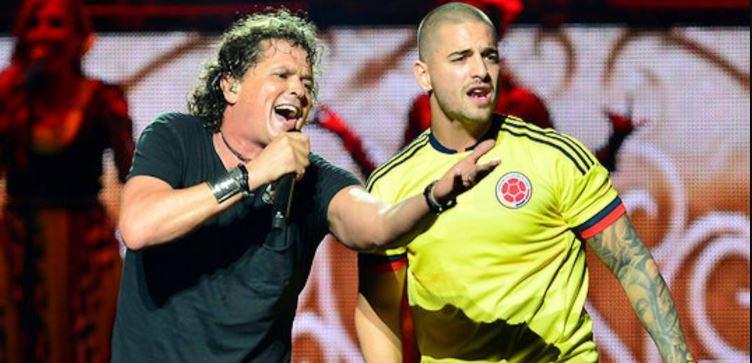 Carlos Vives detona Maluma