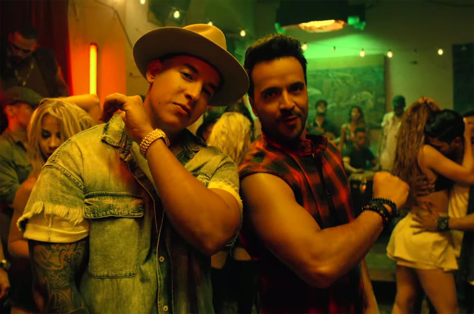 Luis Fonsi e Daddy Yankee perto de outra marca histórica