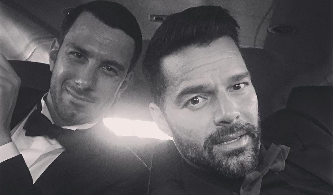 Ricky Martin está oficialmente casado