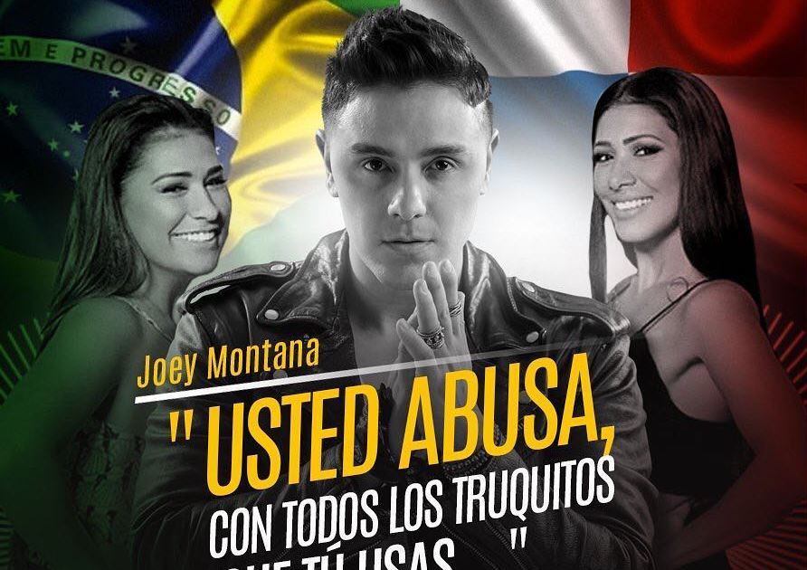 Abusas é o título do single de Joey Montana com Simone e Simaria