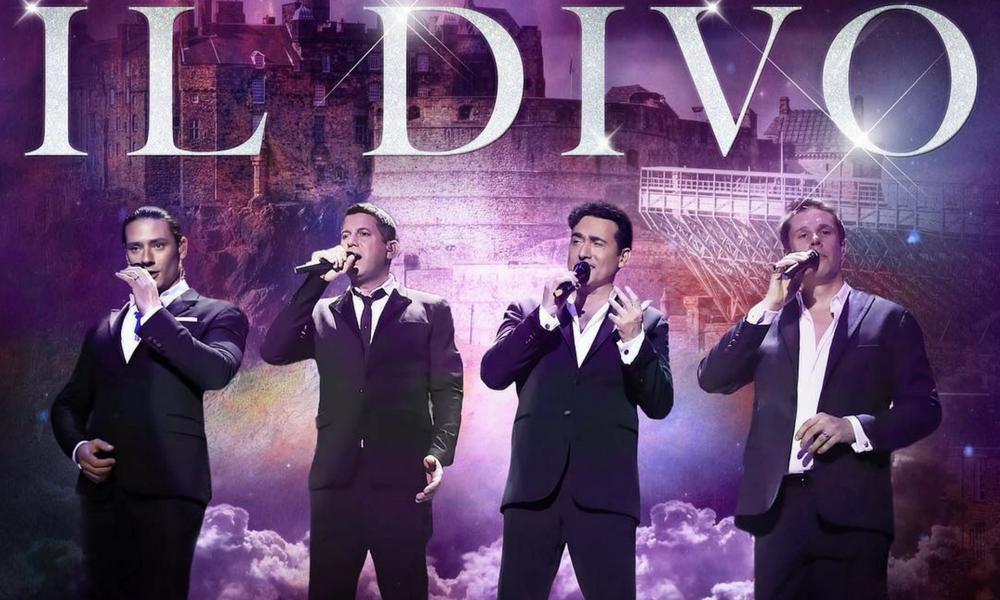 Show do Il Divo será transmitido pela BAND