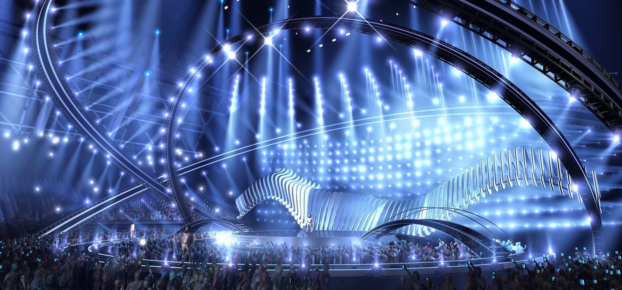 Eurovision 2018 Stage