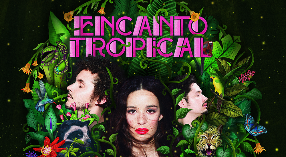 Encanto Tropical é o terceiro disco do Monsieur Periné