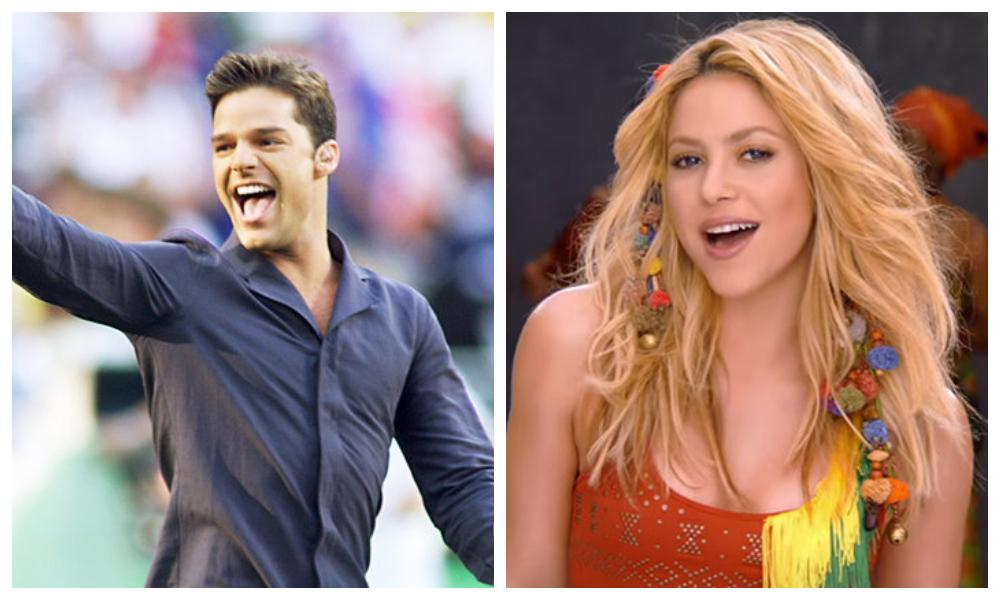 Shakira e Ricky Martin são apenas alguns dos latinos que bombaram na Copa do Mundo