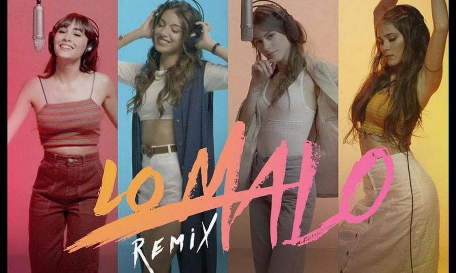 Tini Stoessel e Greicy se unem a Aitana e Ana Guerra no remix do mega hit Lo Malo