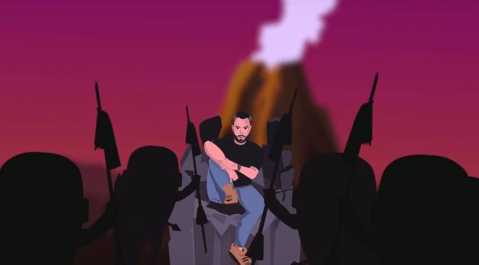 Desenho animado acompanha promoção de single do Juan Magán