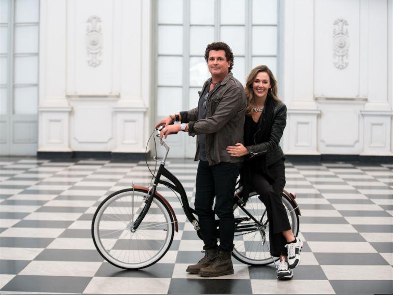 Carlos Vives e Claudia Elena já trabalharam juntos outras vezes