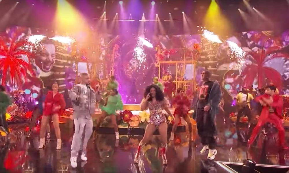 Cardi B, J Balvin e Bad Bunny cantaram o hit I Like It nos AMAs - American Music Awards 2018