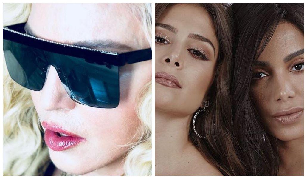 Madonna é fã de Anitta e Greeicy Rendón