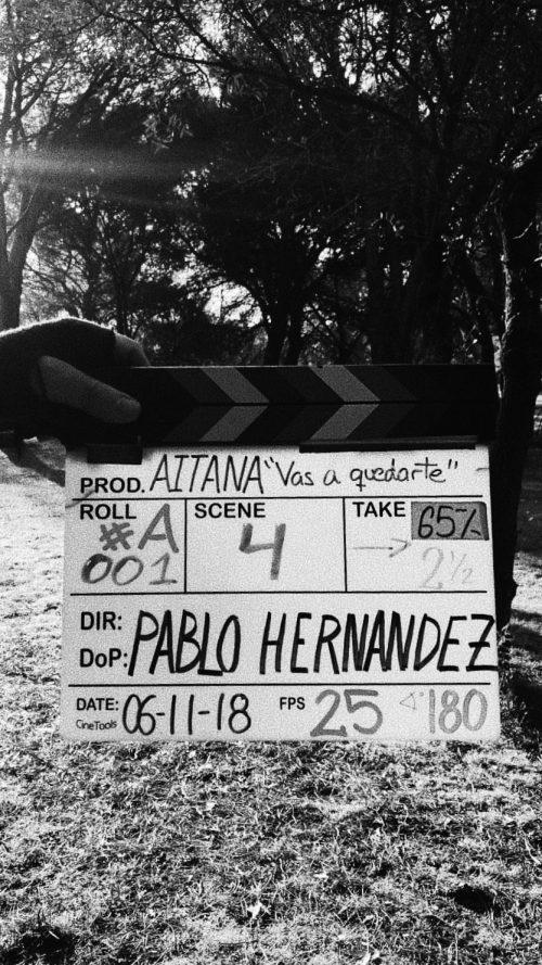 Aitana revela o nome do novo single para os fãs