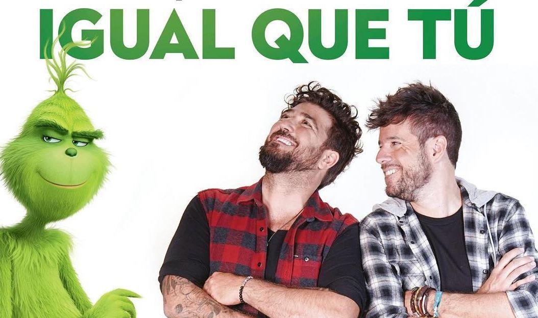 Pablo López e Antonio Orozco estão na trilha sonora de El Grinch