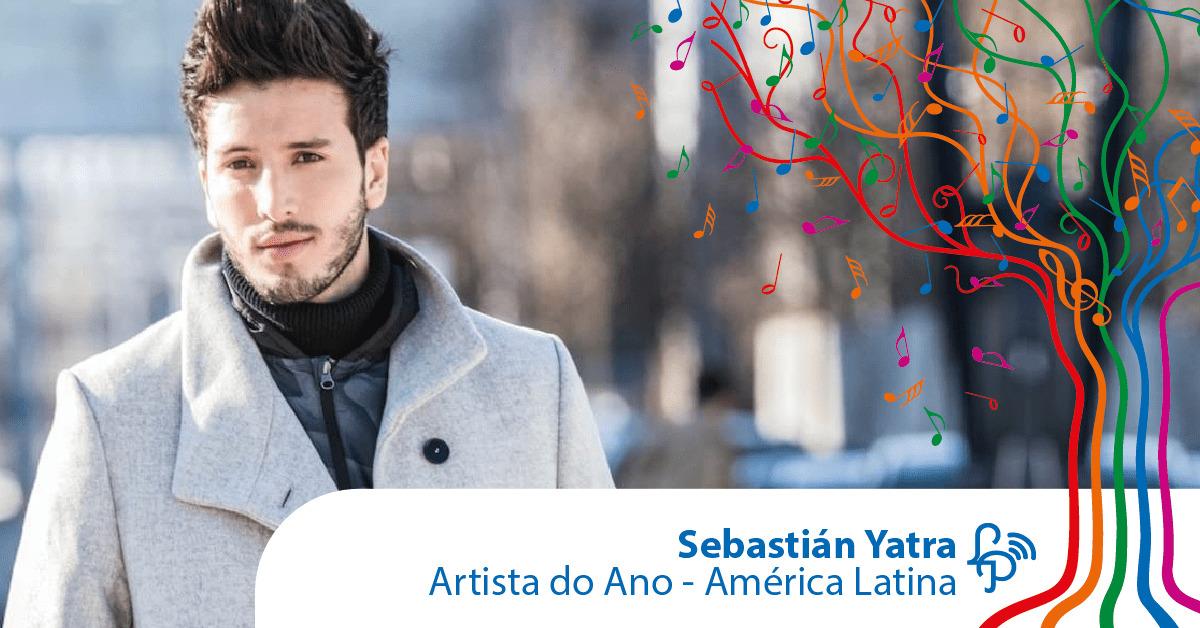Sebastian Yatra é o artista do ano na América Latina