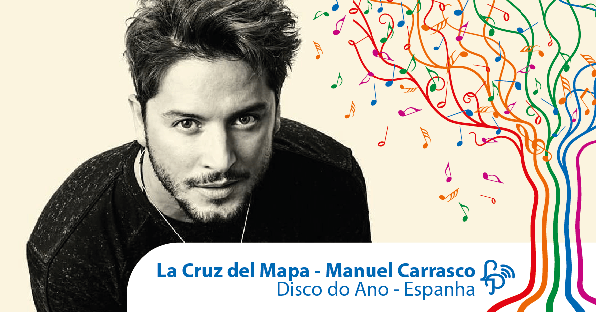La Cruz del Mapa, do Manuel Carrasco, é o disco do ano na Espanha