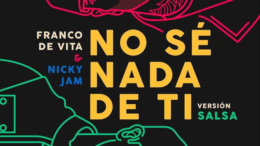 No Sé Nada de Ti é a parceria de Franco de Vita e Nicky Jam