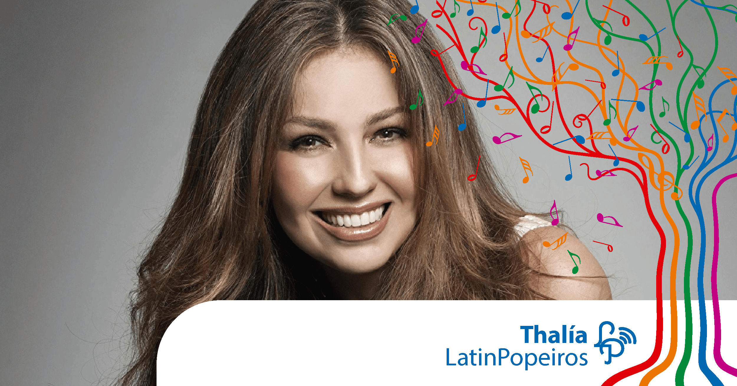 Thalia foi a mais votada pelos seguidores do LatinPop Brasil