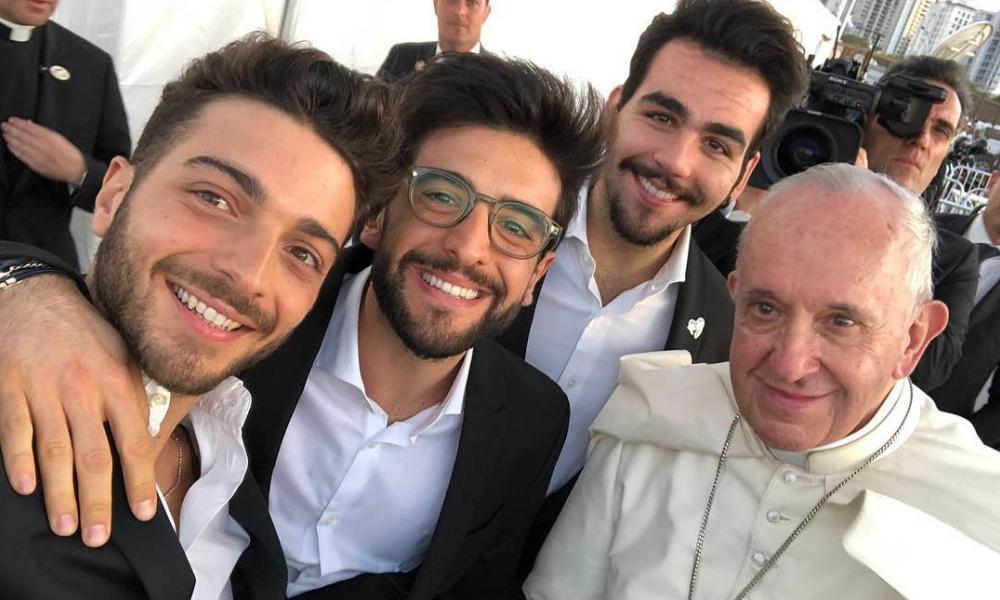 Il Volo cantou para o Papa Francisco durante a Jornada Mundial da Juventude